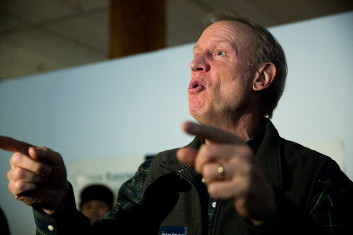 "Other GOP candidates criticize Rauner for ""demonizing"" unions"